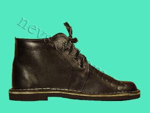 ботинок кожаный